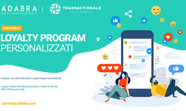 Loyalty program personalizzati